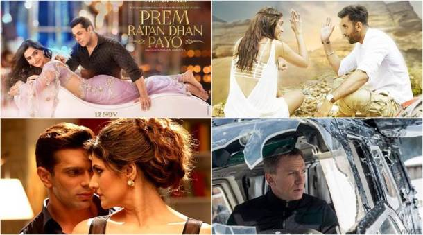 Prem Ratan Dhan Payo, Tamasha, Hate Syory 3, Spectre, Charlie Ke Chakkar Mein, Yaara Silly Silly, Hotel Transylvania 2, X : Past Is Present, Secret In Their Eyes, The Hunger Games: Mockingjay – Part 2, Angry Indian Goddesses, Legend, The Good Dinosaur, Bollywood reviews, Hollywood reviews, entertainment