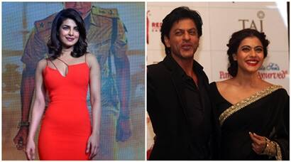 shah rukh khan, kajol, dilwale, priyanka chopra, prakash jha, shah rukh, srk, srk pics, kajol pics, srk kajol, shah rukh khan kajol, gangaajal, srk dilwale, kajol diwale, shah rukh khan kajol diwlale, priyanka chopra jai gangaajal, jai gangaajal trailer, jai gangaajal trailer launch, priyanka chopra pics, entertainment