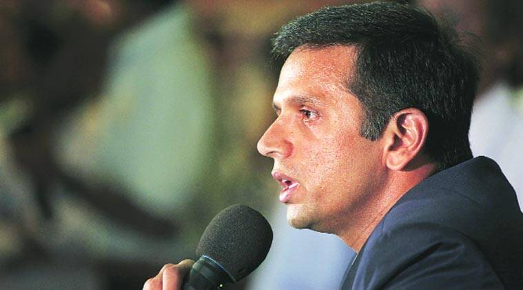 Rahul Dravid, Dravid, India cricket, cricket india, india junior cricket, India vs South Africa, Ind vs SA, South Africa vs India, SA vs Ind, MAK Pataudi lecture, bcci, cricket news, cricket