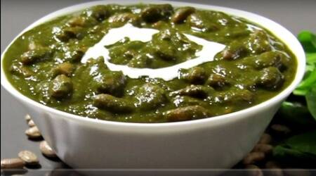 Express recipes: Sneak in some green goodness with this Rajma Palak Curry