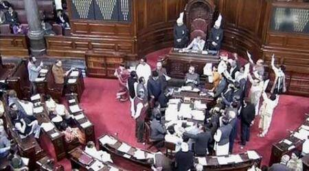 rajya sabha, rajya sabha adjourned, jawahar lal nehru university, jnu, umar khalid, anirban bhattacharya, jnu rustication, uttarakhand, congress, opposition, rajya sabha opposition, article 356, , india newsrajya sabha, rajya sabha adjourned, jawahar lal nehru university, jnu, umar khalid, anirban bhattacharya, jnu rustication, uttarakhand, congress, opposition, rajya sabha opposition, article 356, , india news