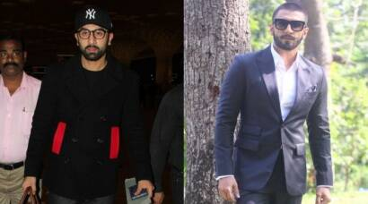 Ranbir Kapoor takes off, Ranveer Singh shoots for 'TV'