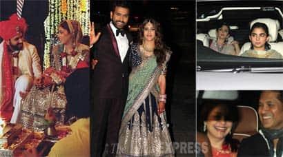 Rohit Sharma Weds Ritika Sajdeh Sachin Tendulkar Ambanis Mark Presence Sports Gallery News The Indian Express
