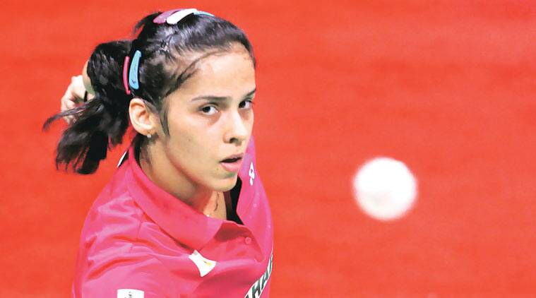 Saina played 75 minutes of unabashedly attacking badminton to fight past the World champion.