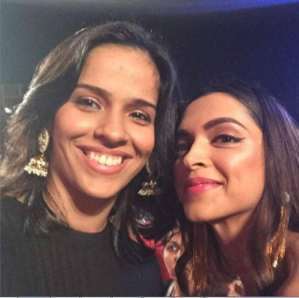 Saina, Deepika Padukone
