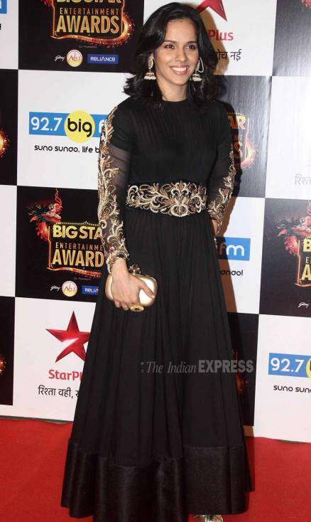 Saina Nehwal, Saina Nehwal big Star Entertainment Awards