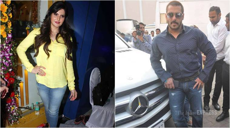 Salman Khan, Zareen Khan, Salman Khan Zareen Khan, Salman Zareen Khan, Salman Zareen, Zareen Khan Hate Story 3, Zareen Khan Hot, Zareen Khan Bold, Zareen Khan Hate Story 3 movie, Entertainment news