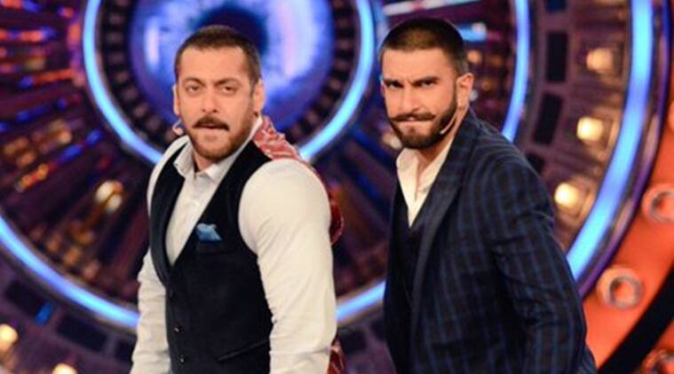 salman khan, ranveer singh, bigg boss, bigg boss 9, bajirao mastani, ranveer on bigg boss, ranveer singh bigg boss 9, salman khan bigg boss, salman khan bigg boss 9, bigg boss nau, salman, ranveer, salman ranveer bigg boss 9, salman ranveer, ranveer singh bajirao mastani, deepika padukone, entertainment news, bollywood news