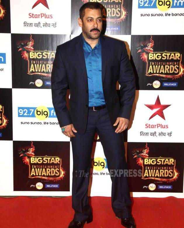 Salman Khan, Big Star Entertainment Awards