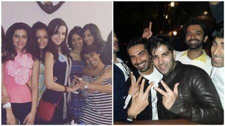 Sanaya Irani, fiance Mohit Sehgal party with friends days before wedding
