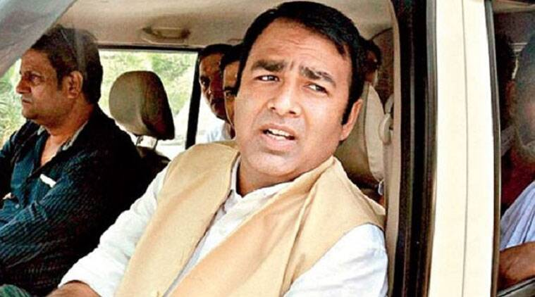 File photo of BJP MLA Sangeet Som. (Source: PTI)