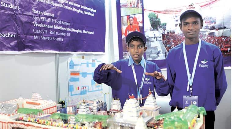 India International Science Fair, IIT, INSPIRE, science fair, delhi science fair, science education, delhi news