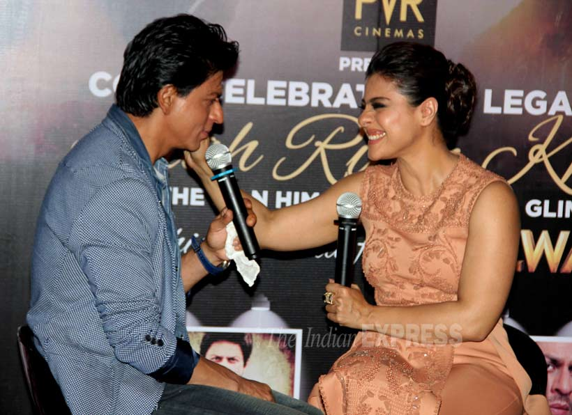 Shah Rukh Khan Kajol Dilwale Dilwale trailer bollywood entertainment