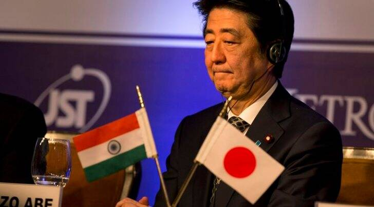 shinzo abe, shinzo abe visit, india japan relations, india bullet train, bullet train route in india, shinzo abe investments, india japan investments, narendra modi, sushma swaraj, shinzo abe varanasi