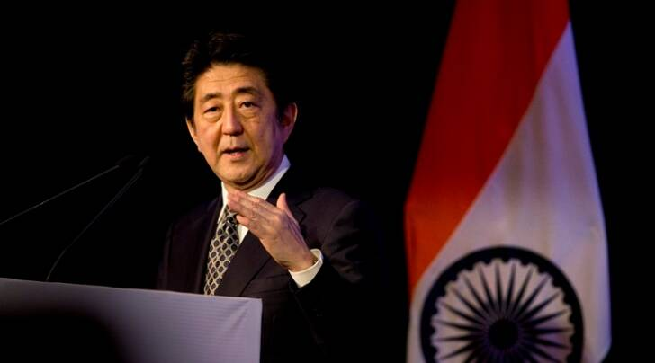 shinzo abe, india, narendra modi, shinzo abe india visit, india japan relations, bullet train, bullet train india, india japan deals, india news