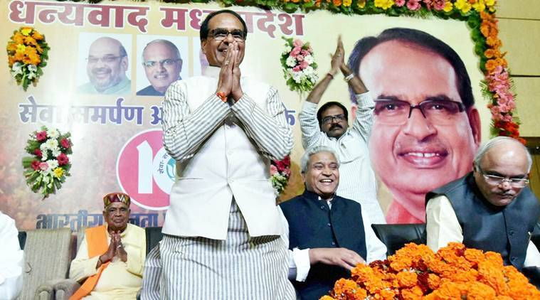 shivraj singh chouhan, madhya pradesh, shivraj chouhan 10 years as CM, MP CM shivraj 10 years, Madhya Pradesh farmers, MP farming report, MP agriculture reprt, MP agricultural production, MP national wheat contribution, MP agricultural policy, MP BJP, india news, madhya pradesh news, latest news