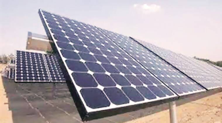 solar energy, india solar capacity, renewable fuel, india renewable energy, india news, indian express,