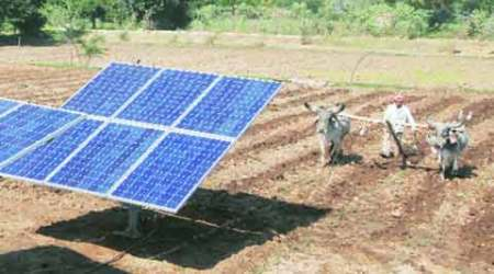 Six farmers in Gujarat village join to trap sun — and power the grid