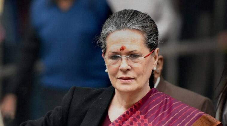 congress, congress president, sonia gandhi, sonia gandhi in allahabad, sonia surprise visit, lucknow news