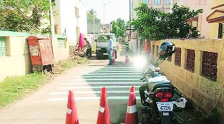 PCMC, speed breaker, rumble strip, pune accident, pune road accident, pune traffic, pune news