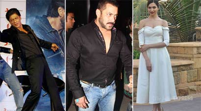 Salman Khan, Shah Rukh Khan, Amitabh Bachchan,