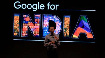 Google CEO Sundar Pichai, Sundar Pichai, Sundar Pichi Google announcements, Pichai India announcements, Google new campus, Asus Chromebit India, Sundar Pichai India news, free wifi, Google