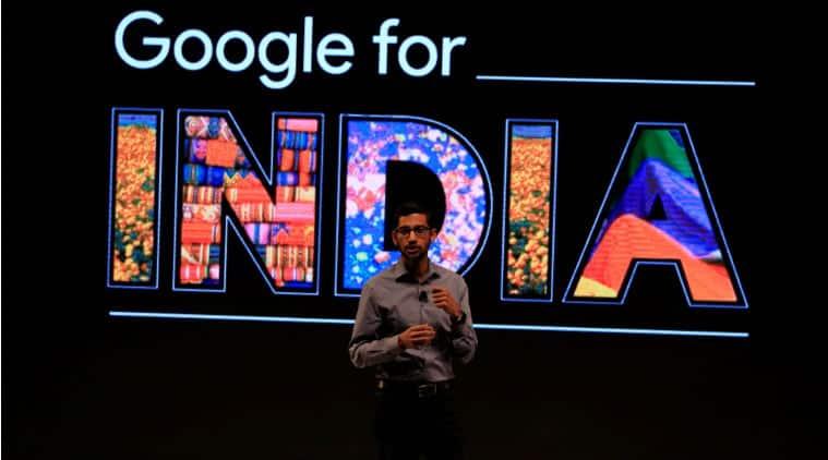 Google CEO Sundar Pichai, Sundar Pichai, Sundar Pichi Google announcements, Pichai India announcements, Google new campus, Asus Chromebit India, Sundar Pichai India news, free wifi, Google