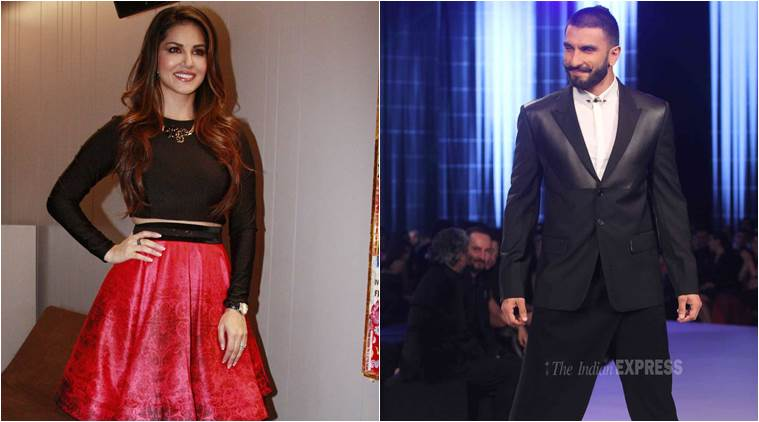 Sunny Leone, Ranveer Singh, Sunny Leone Shy, Sunny Leone Ranveer Singh, Sunny Leone Films, Sunny Leone Mastizaade, Sunny Leone Shy Nature, Sunny Leone at Party, Entertainment news