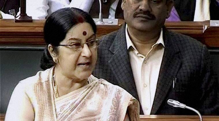 indian foreign policy, sushma swaraj, sushma in sri lanka, Sir lankan constitution, diplomatic capital, President Maithripala Sirisena, indo-lankan relations, express opinion