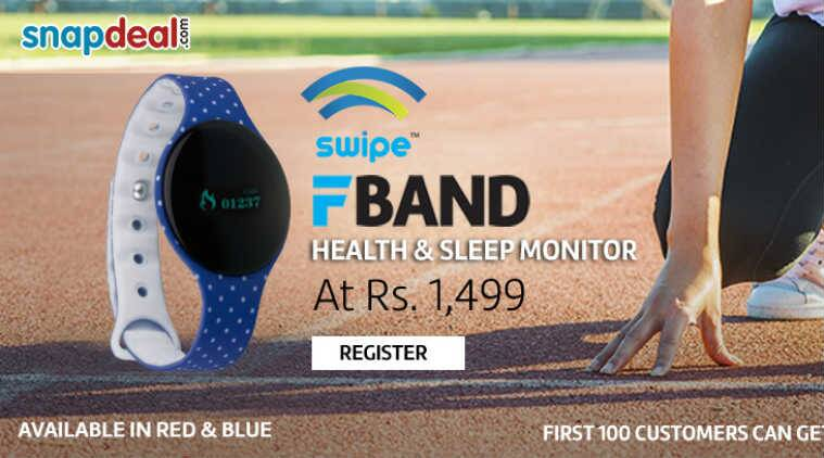 Swipe, Swipe F-Band, F-Band, Swipe F-Band price, F-Band features, F-Band specs, wearables, smart wearables, technology, technology news