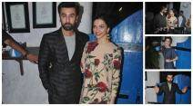 Ranbir Kapoor, Deepika Padukone, Alia Bhatt, Tamasha success bash, Alia Bhatt, Imtiaz Ali, Ranveer Deepika, Rajkumar Hirani, Aditya Roy Kapoor, Siddharth Roy Kapur, Tamasha success bash photos, Tamasha success party photos, photos of ranveer deepika tamasha success, Ranbir Kapoor success tamasha, ranbir kapoor deepika padukone tamasha