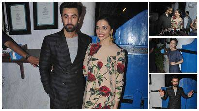 Ranveer, Alia and all the 'Tamasha' at Ranbir Kapoor, Deepika Padukone's party