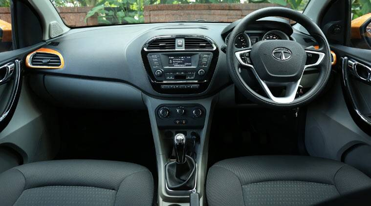Tata Tiago dashboard. Image Courtesy: Indian Express