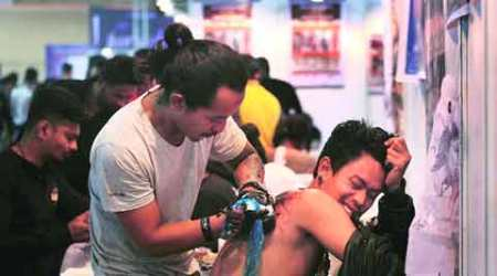 New in town and freshly inked: Tattoo convention comes to Delhi