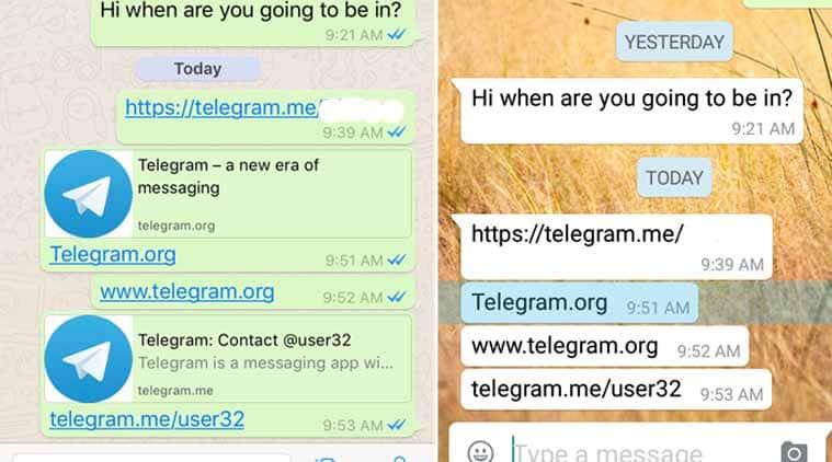 WhatsApp vs Telegram, Telegram links, WhatsApp blocking Telegram, Telegram links WhatsApp blocking, WhatsApp Telegram block