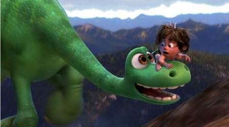 The Good Dinosaur review, The Good Dinosaur movie review, The Good Dinosaur film review, Raymond Ochoa, Jack Bright, Jeffrey Wright, Frances McDormand, The Good Dinosaur, The Good Dinosaur rating, The Good Dinosaur stars, Peter Sohn, film review, movie review, review