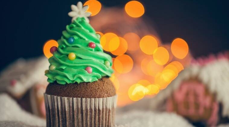 Dessert shaped as Christmas tree is a hit. (Source: Thinkstock)