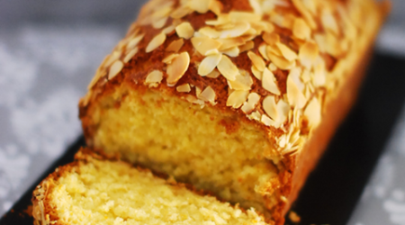 An alluring alternative to the X'Mas Fruit Cake: Orange Almond And Yogurt Loaf
