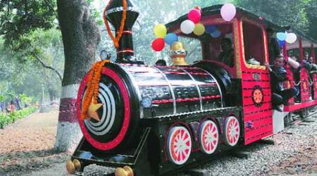 After 20 years, toy train chugs again in RakhBagh