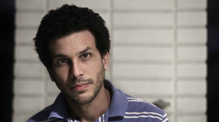 """Ahmed Samra, a 27-year-old Egyptian Muslim political analyst poses for a photograph at his apartment in Cairo, Egypt, Tuesday, Dec. 8, 2015. """"Donald Tump's comments will only amplify the feelings of the Muslim population -- marginalized and demonized. His bigotry will only succeed in empowering the very radical groups he fears while alienating the entire Muslim community, which pays the highest price in fighting this evil,"""" said Samra reacting to Donald Trump's speech. (AP Photo/Nariman El-Mofty)"""