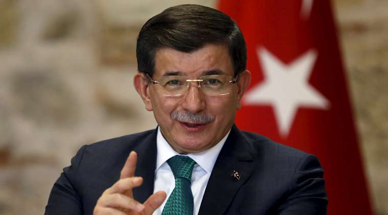 russia, turkey, russia plane shooting, russia plane down, russia plane shoot, turkey pm, ahmet Davutoglu, news