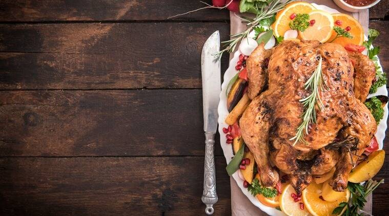 Rasted turkey with vegetables. (Source: Thinkstock)