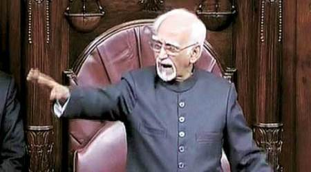 Hamid Ansari wants more powers to take action against MPs
