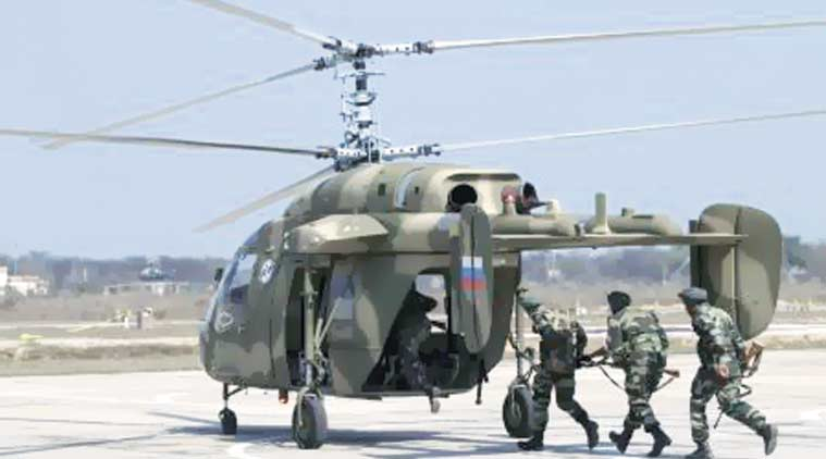 light utility helicopters, navy helicopter, indian navy, Make in India, arun jaitley, helicopter kamov, kamov 226T, narendra modi, indian express news, india news