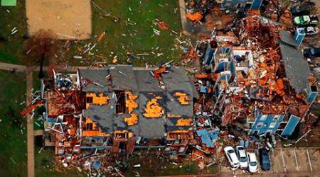 Crisis on Christmas: Tornadoes in US, floods in UK & S.America