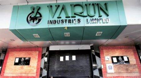 At the peak of its business in FY11, Varun Industries' net worth was Rs 461.62 cr & its debt Rs 932 cr