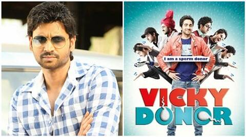 Vicky Donor, Vicky Donor remake, Vicky Donor telugu remake, Vicky Donor telugu movie cast, sumanth, mallik ram, Vicky Donor news, entertainment news