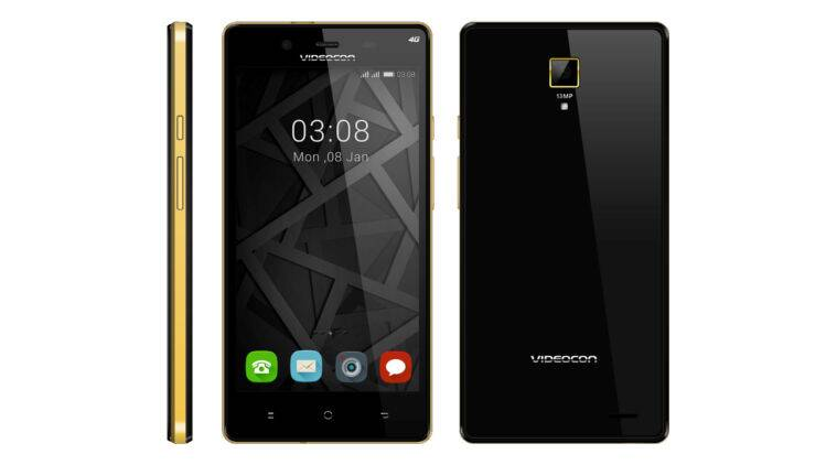 Videocon Mobiles, Videocon Z55 Krypton, Videocon Z55 Krypton specs, Videocon Z55 Krypton price, videocon 4G smartphone, latest 4G android smartphone, smartphones, technology news