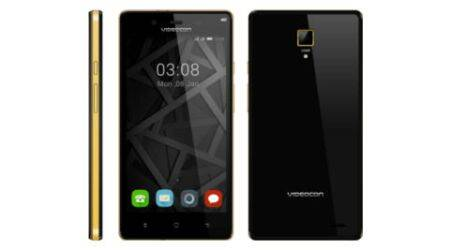 Videocon unveils its first 4G smartphone Z55 Krypton at Rs 7,999