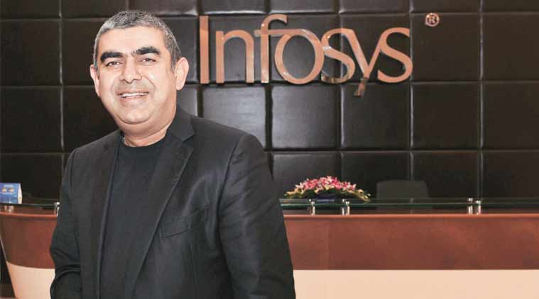 Vishal Sikka CEO and MD, Infosys.
